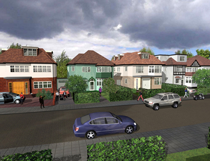 New house in Golders Green