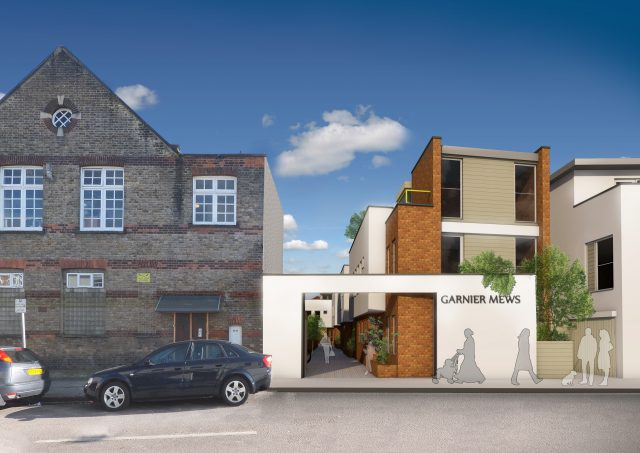New dwellings in Willesden Green