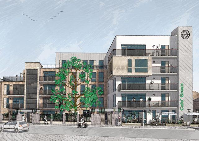 New flats in Willesden Green