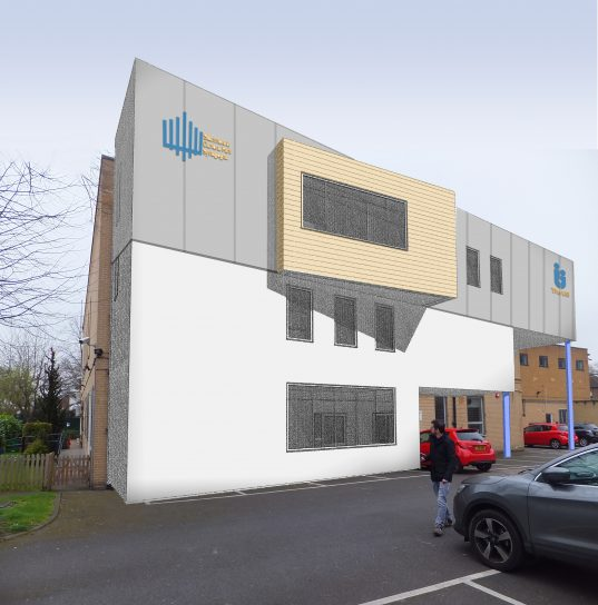 Extension to community facility in North London