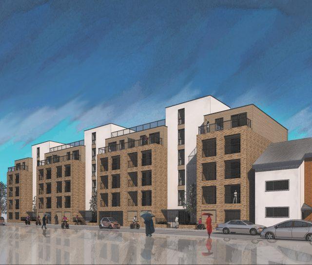 New flats in Borehamwood
