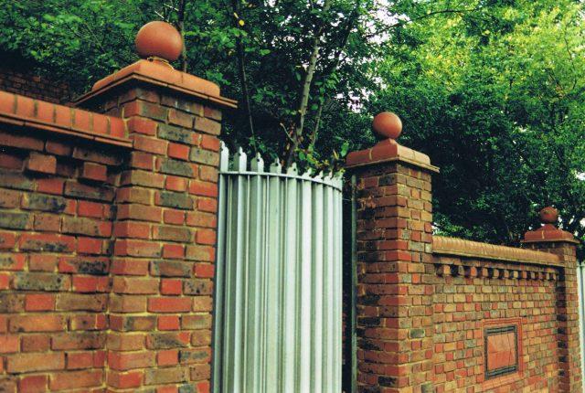 Amazing boundary wall